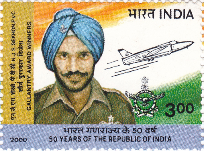 Nirmal_Jit_Singh_Sekhon_2000_stamp_of_India